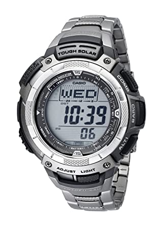 amazon com casio men s paw1100t 7v pathfinder triple sensor rh amazon com Casio Pathfinder Watches Casio Pathfinder Triple Sensor Tough Solar Watch