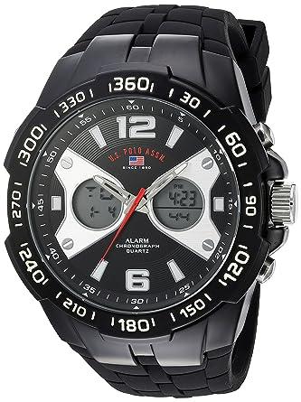U.S.POLO ASSN. Reloj para Hombre de con Correa en Caucho US9625 ...