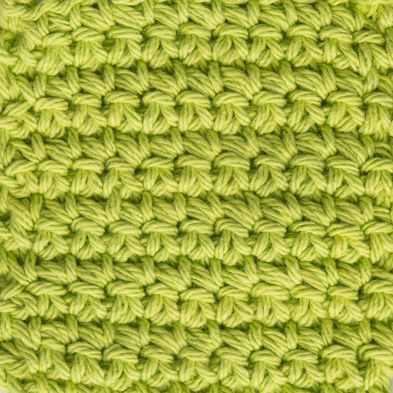 Machine Wash /& Dry 4 2.5 oz Country Red Lily Sugar N Cream  The Original Solid Yarn - Medium Gauge 100/% Cotton