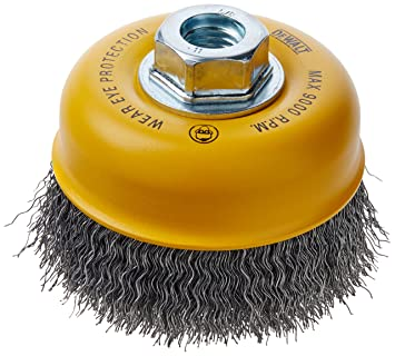 Amazoncom DEWALT DW Inch By Inch HP Carbon - Vinyl cup brush