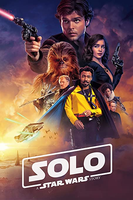 FREE P+P SOLO Poster A Star Wars Story NEW May 2018 Han Solo Movie CHOOSE SIZE