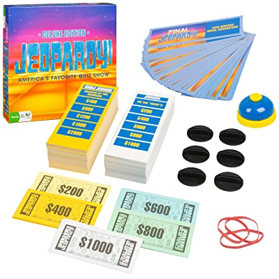 Outset Media - Jeopardy Deluxe Edition - America's Favorite Quiz Show: Toys & Games