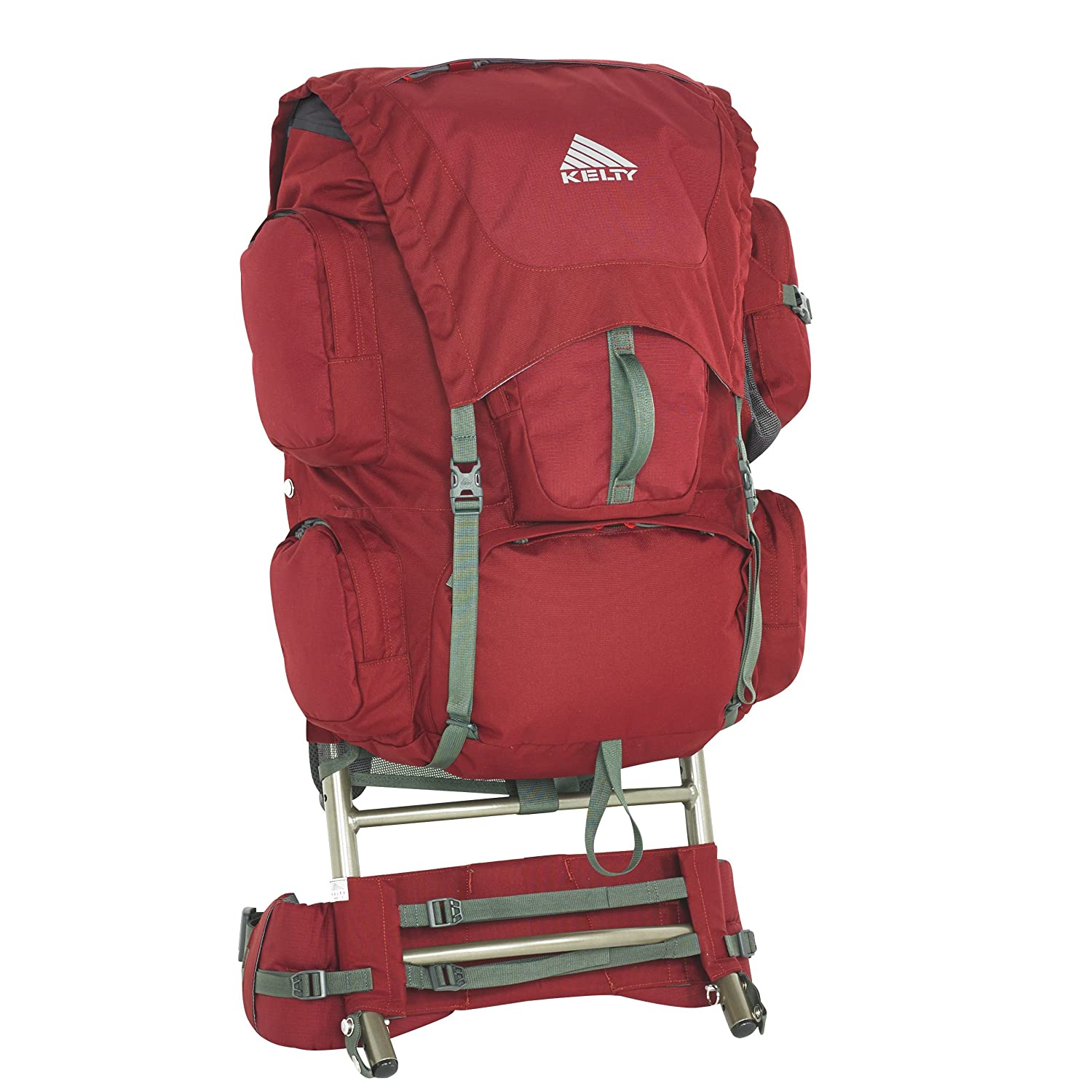 amazoncom kelty trekker 65 backpack garnet red sports outdoors - External Frame Hiking Backpack