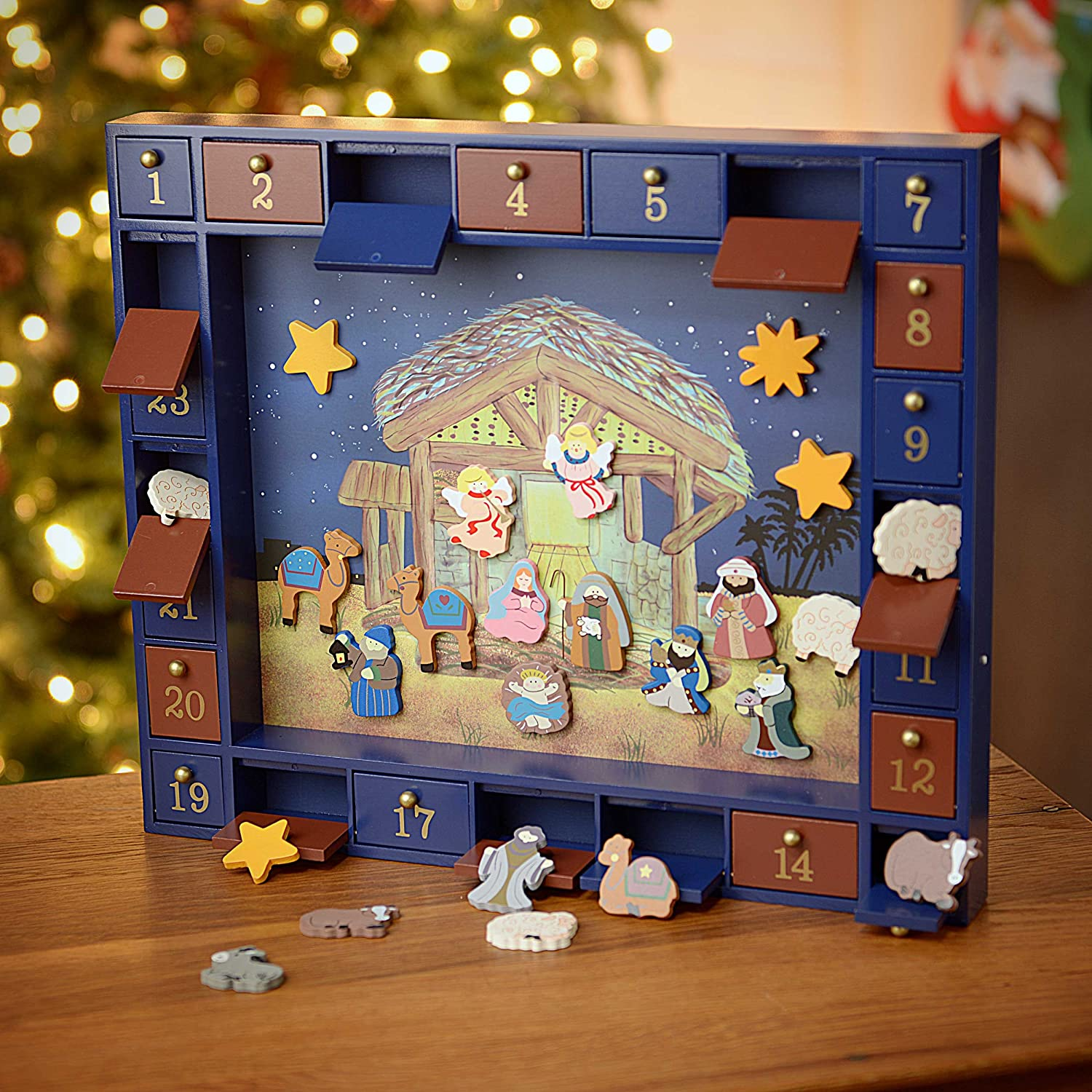 Kurt Adler Advent Calendar for Children