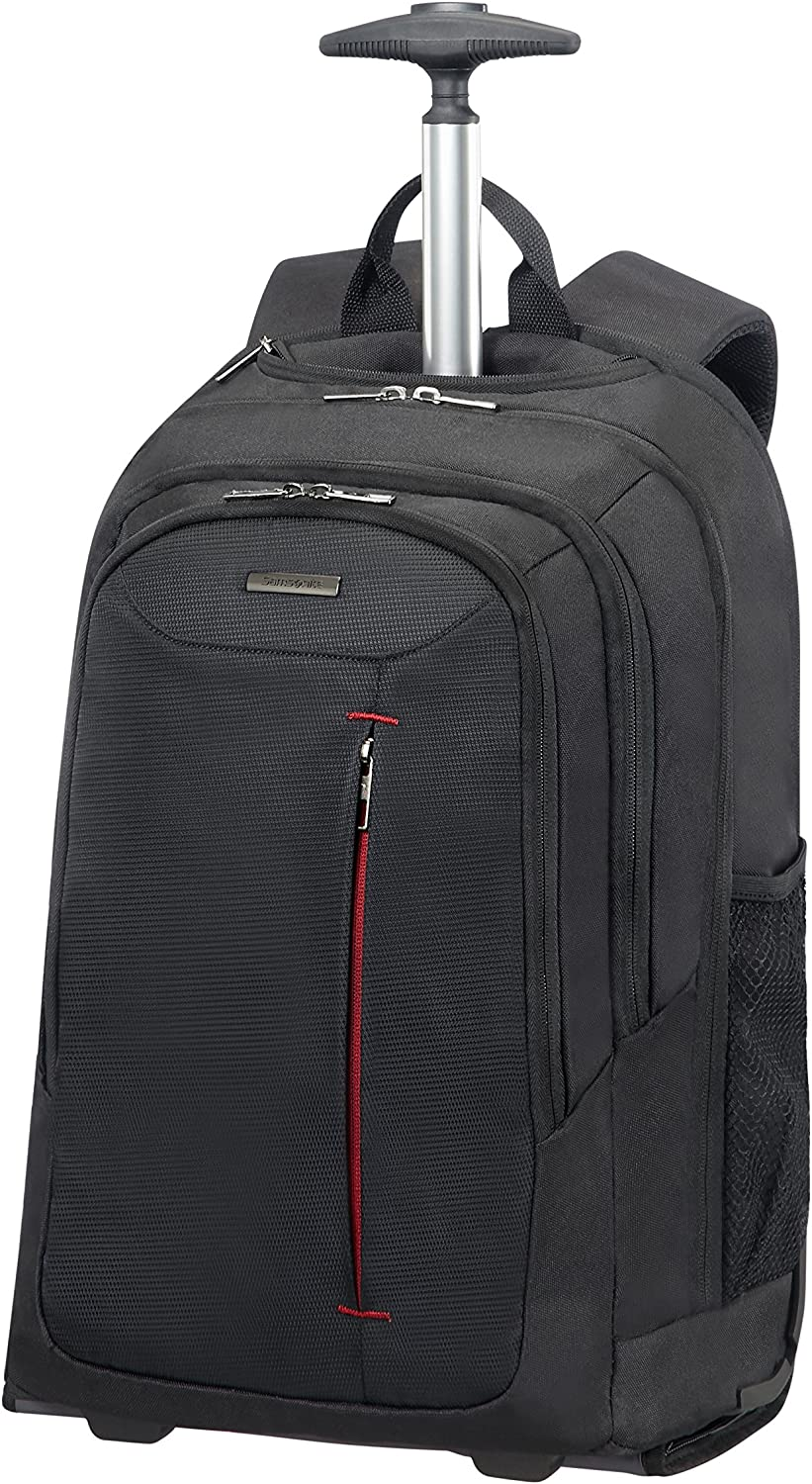 Samsonite - Guardit - Wheeled Mochila para Laptop 48 cm, 27 L, Negro