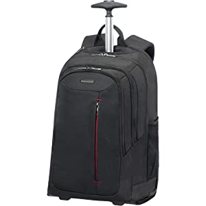 8c5311c5702 SAMSONITE Rewind - Laptop Backpack With Wheels, 55 cm, 32.5 L, Black ...