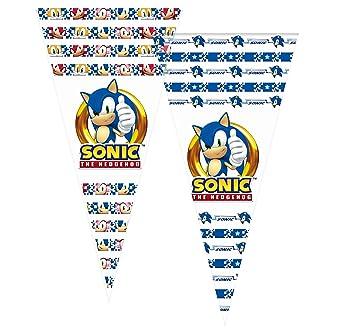 ALMACENESADAN 2357; Pack 6 Bolsas de Cono Sonic; Ideal para ...