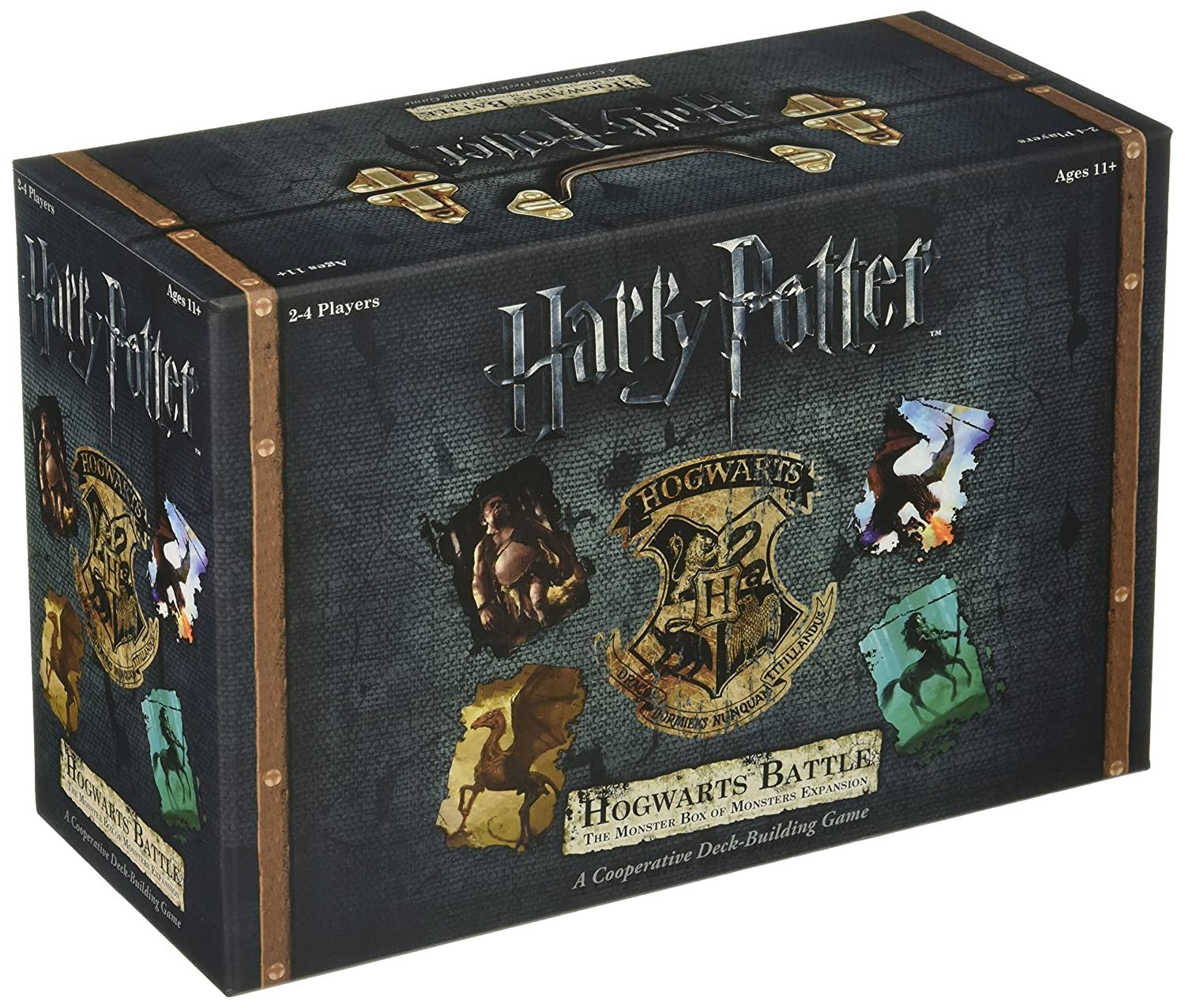 Harry Potter Deck-Building Game Expansion The Monster Box of Monsters USAopoly