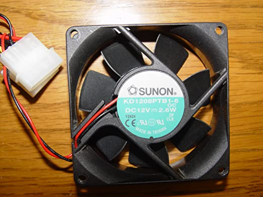3 Pin Sunon 40x40x20mm Medium Speed Fan EF40201 B2-000U-G99