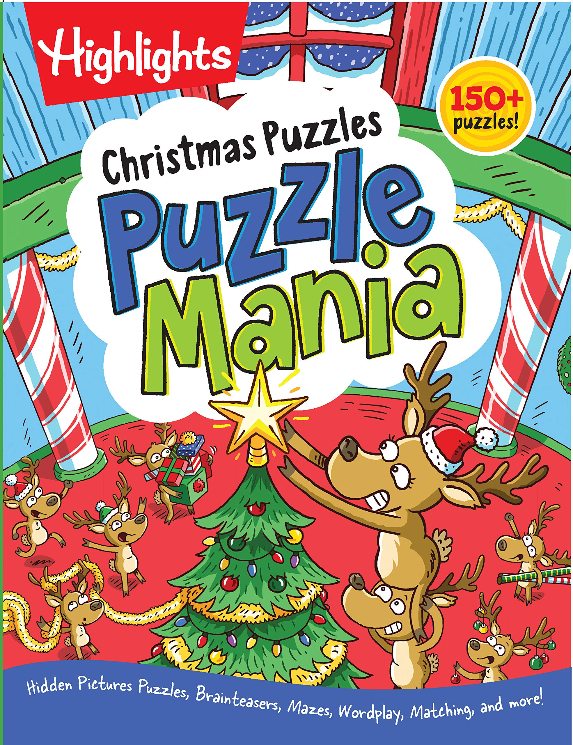 Christmas Puzzles Highlights Puzzlemania%C2%AE Activity product image