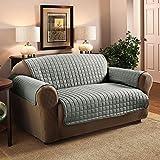 PMS 3 Sitzer 280 x 190cm Polyester Sessel Sofa Cover Protector Grau