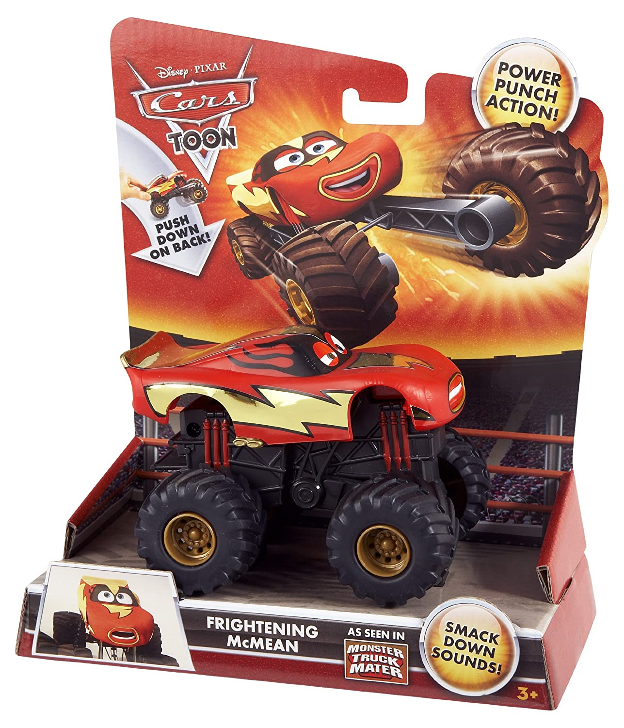Cars Monster Frightening Mcmean Amazon Co Uk Toys Games