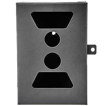 Ultrasport UmovE - Carcasa metálica Protectora con Puerta y Dispositivo de Cierre para la cámara de