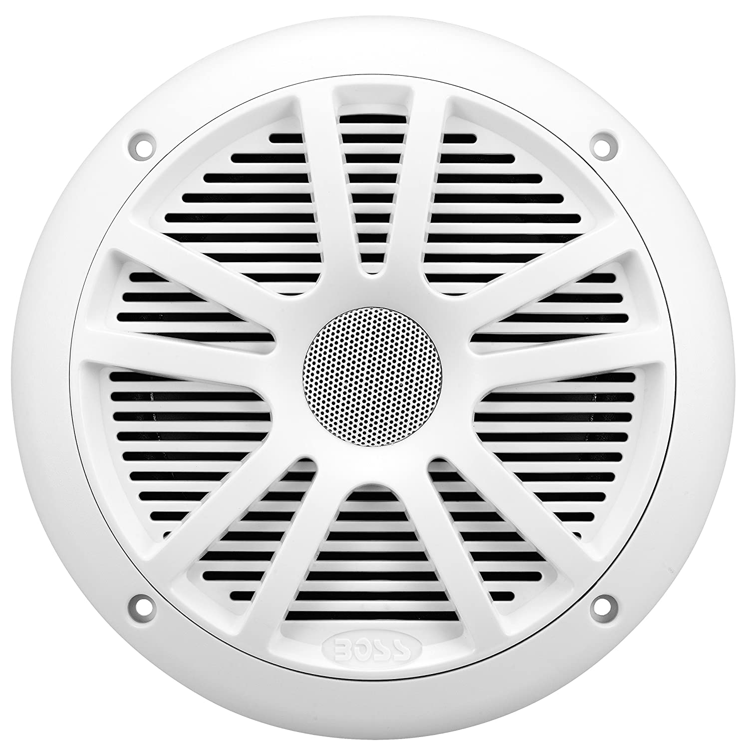 BOSS Audio Systems White One Size Audio MCK508WB.6 Boss Mp3//Cd//Am//Fm//Bt Speakers