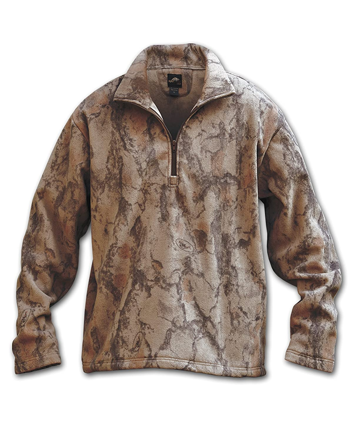 389efa2dc5a28 Natural Layering Fleece ¼ Zip Pullover, Camo Hunting Jacket for Men and  Women, Women's and Men's Layer Jacket