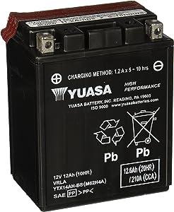 Yuasa YUAM62H4A YTX14AH-BS Battery