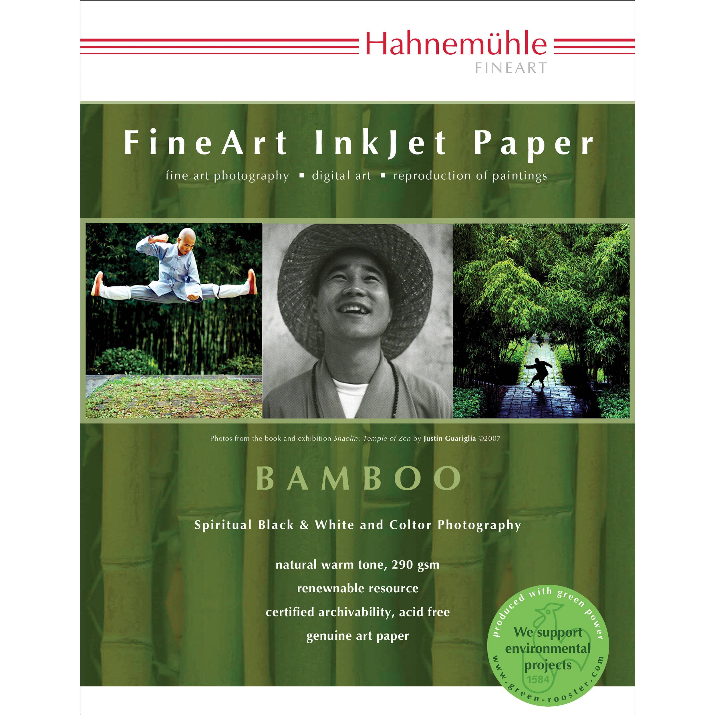 Hahnemuhle Bamboo Fine Art Paper (8.5 x 11'')