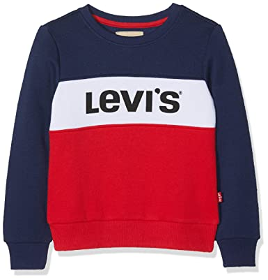 4d7283f3514 Levi's Kids Girl's Sweatshirt: Amazon.co.uk: Clothing