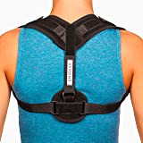 Smirava Posture Corrector Brace for Men & Women: Stretch Resistance Band for Back Pain Relief/Breathable, Comfortable, Adjustable Upper Back, Clavicle & Shoulder Brace/ Spine Alignment & Posture Enhan