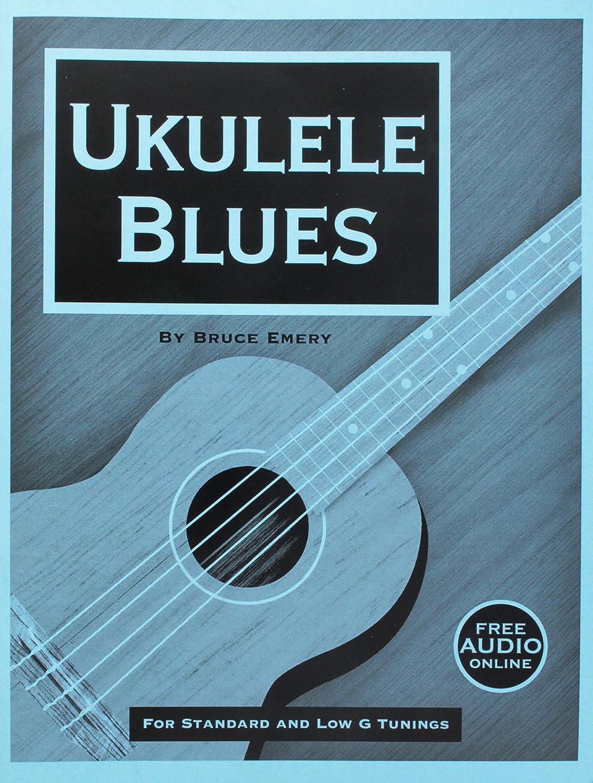 Skeptical Guitarist Sheet Music Folder (UKEBLUES) Bruce Emery Art / Instructional