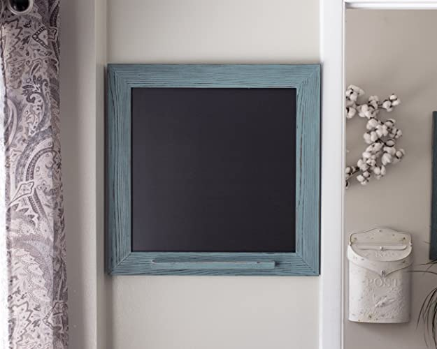 Amazon Rustic Framed Chalk Marker Board Turquoise Kitchen Menu