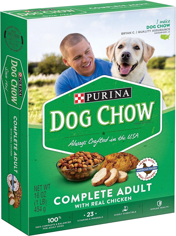 Dog Chow - Complete & Balanced Dog Food, 16 oz,(Purina)