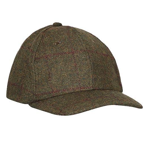 Riverside Gorra de béisbol Impermeable Blenheim Tweed para ...