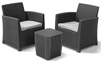 ALLIBERT 223817 Lounge Corona Balcony, 2 fauteuils, 1 Table en ...