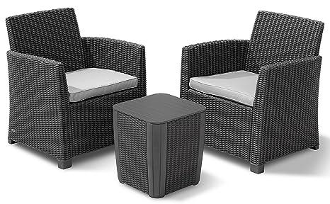 Allibert 223817 Corona - Conjunto de Muebles de jardín (2 ...