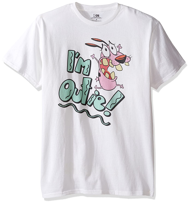 Cartoon Network Men's Courage Im Outie T-Shirt