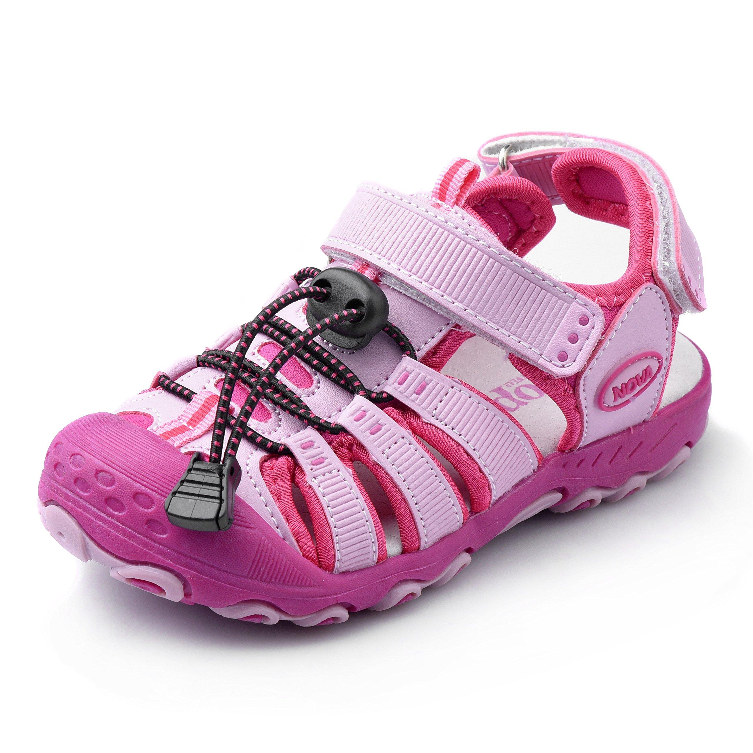 Nova Toddler Little Boys Summer Sandals NF Boy NFBS124 Fuchsia 9