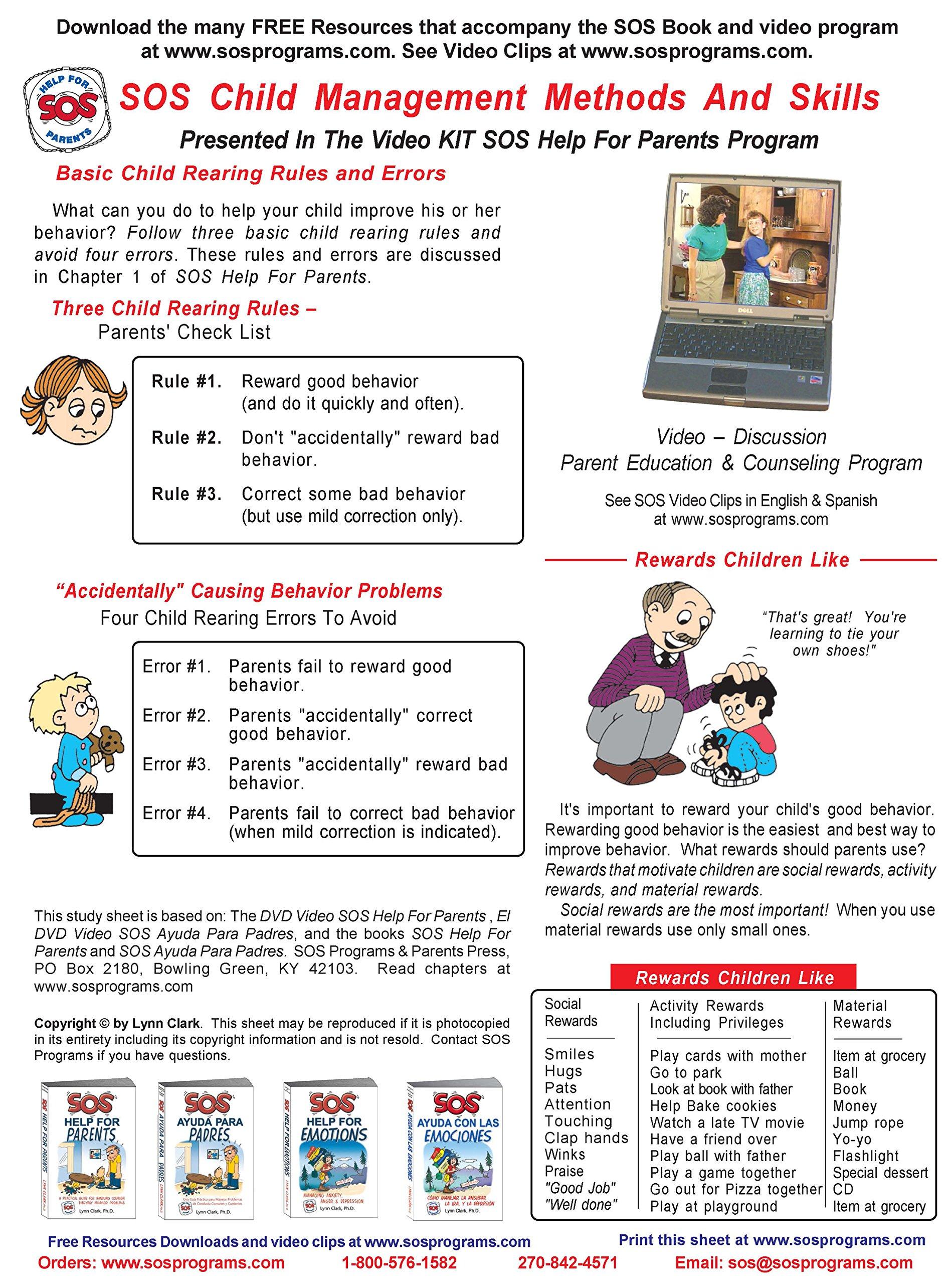 SOS Help For Parents Third Edition Lynn Clark 9780935111217 Amazon Books