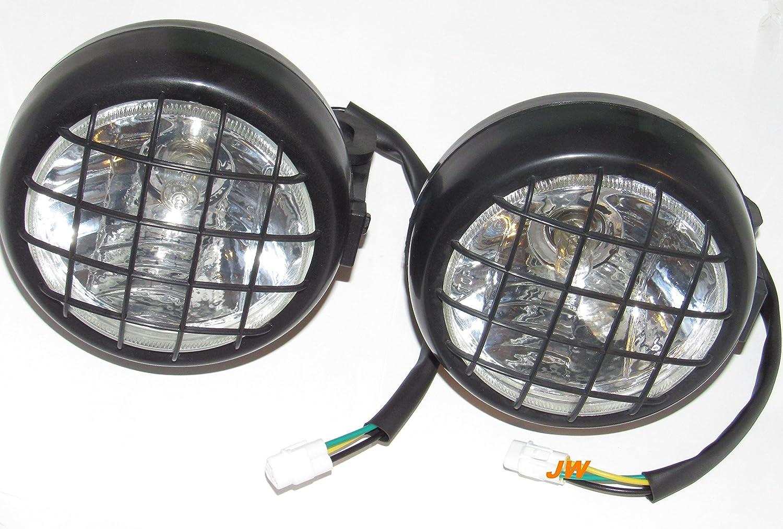 Yamaha ATV NEW Headlights head lights assembly 2002-2006 BANSHEE 350 YFZ350 2002-2004 Warrior 350 2000-05 Wolverine 350 YFM JWPLR