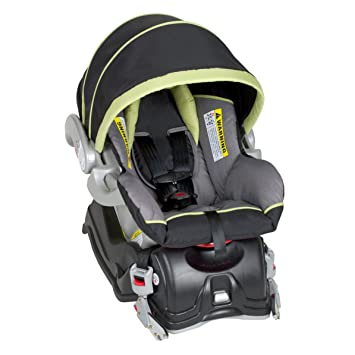 Baby Trend EZ Flec Loc Infant Car Seat Celery