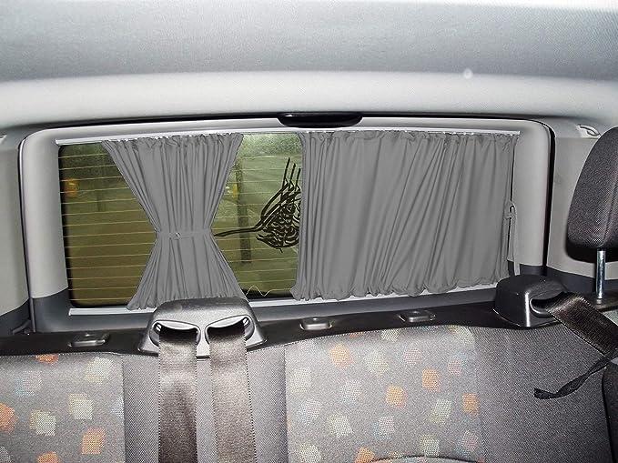 distancia corta entre ejes con port/ón trasero color: gris Cortinas T5 y T6 Transporter cortinas protecci/ón solar
