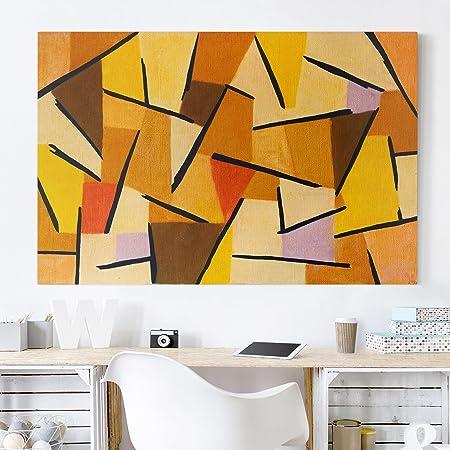 Bilderwelten Canvas Art - Paul Klee - Harmonized Struggle ...