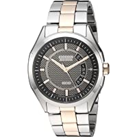 Citizen Men's Solar Powered Watch, Analog Display and Stainless Steel Strap - AW1146-55H
