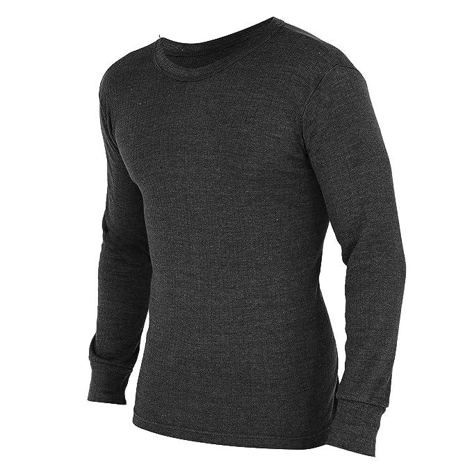 (フロソ) FLOSO メンズ あったか サーマル 長袖シャツ インナー Tシャツ 防寒 保温 下着 肌着