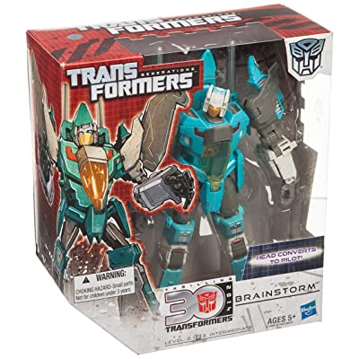 Transformers Generations Voyager Brainstorm: Toys & Games