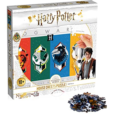 Harry Potter House Crests 500 piece Puzzle: Toys & Games