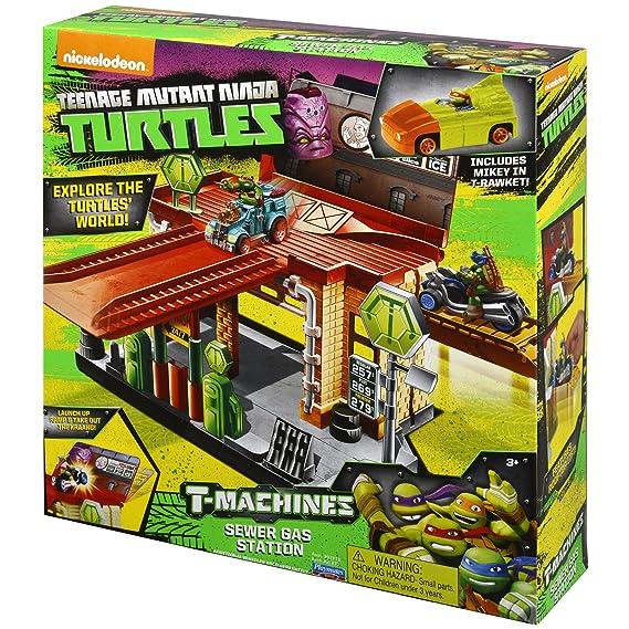 Teenage Mutant Ninja Turtles T-Machines Sewer Gas Station ...
