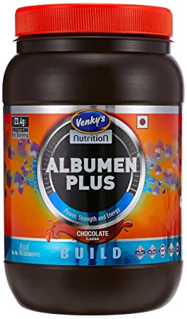 Amazon.com: Venkys Albumen Plus - 500 G (Chocolate): Health & Personal Care