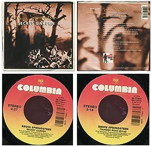 Secret Garden/Thunder Road (live) rare 1995 vinyl U.S. 7 inch single with picture sleeve!