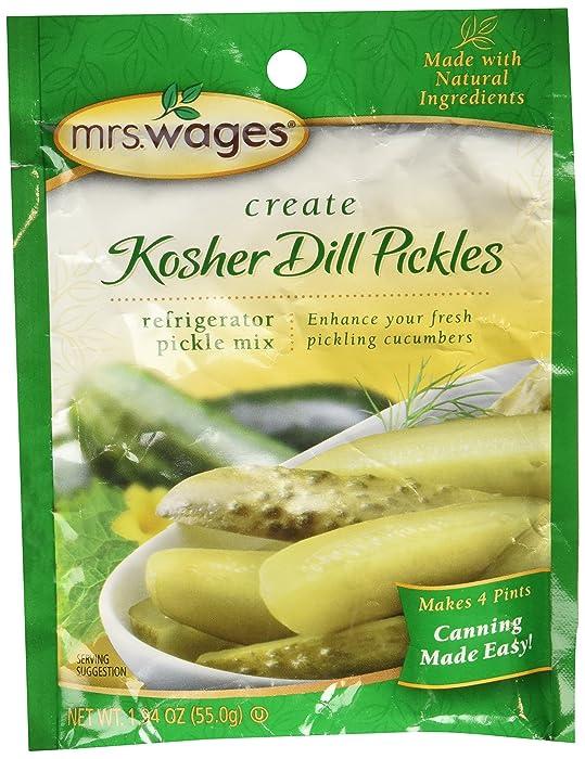 Top 9 Garden Mix Pickles
