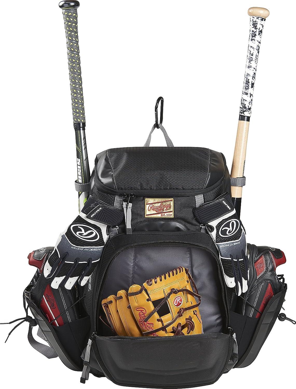Rawlings Gold Glove Series Bat Pack Black with Gray Greys Distribution R1000-B//GR
