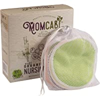 Reusable Nursing Pads 8 Pack Leak Proof Layer Washable Made from Organic Bamboo Plus Laundry Bag