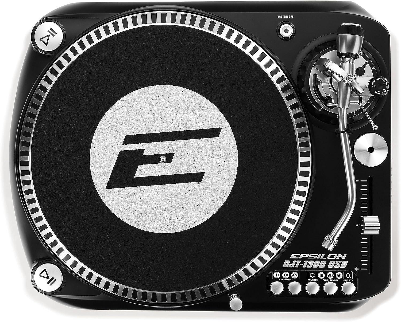 Tocadiscos Epsilon DJT-1300, color negro: Amazon.es: Instrumentos ...