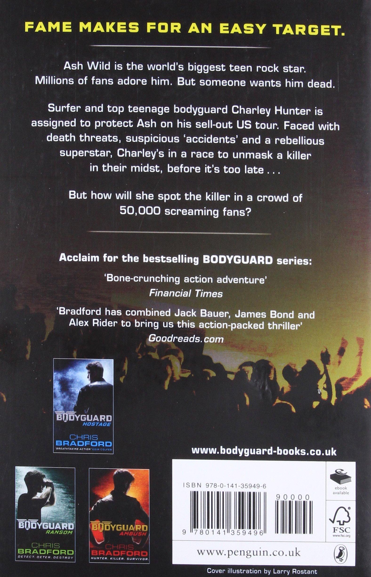 Bodyguard: Target (Book 4): CHRIS BRADFORD: 9780141359496: Amazon ...