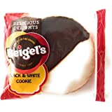 Beigel's Bakery Individually Wrapped Large Black and White Cookies - 18 Ct.