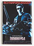Terminator 2 Movie Poster Fridge Magnet (2 x 3 inches)